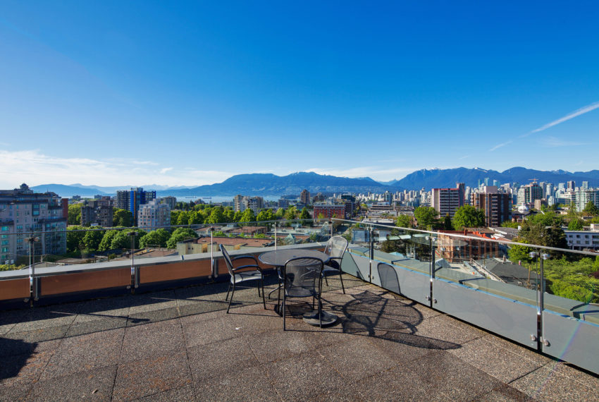 511 - 1445 Marpole Ave Roof Patio-10