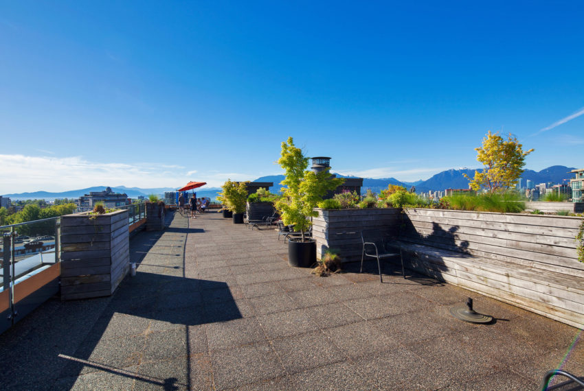 511 - 1445 Marpole Ave Roof Patio-4