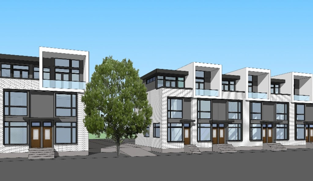 new townhouse development in Oakridge Vancouver