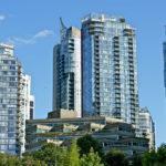 Condo buildings in Vancouver