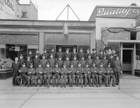 14th & Granville - Citizen's Patrol 1937