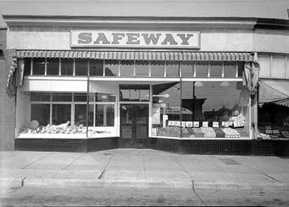 Granville & 11th - Safeway 1939
