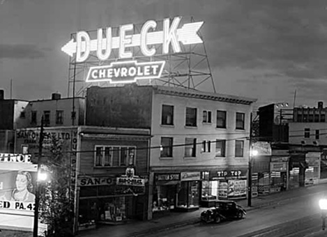 Granville & Broadway 1949